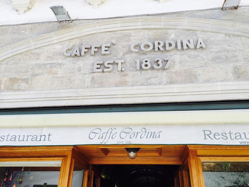 マルタで一番古いカフェ、コルディーナ