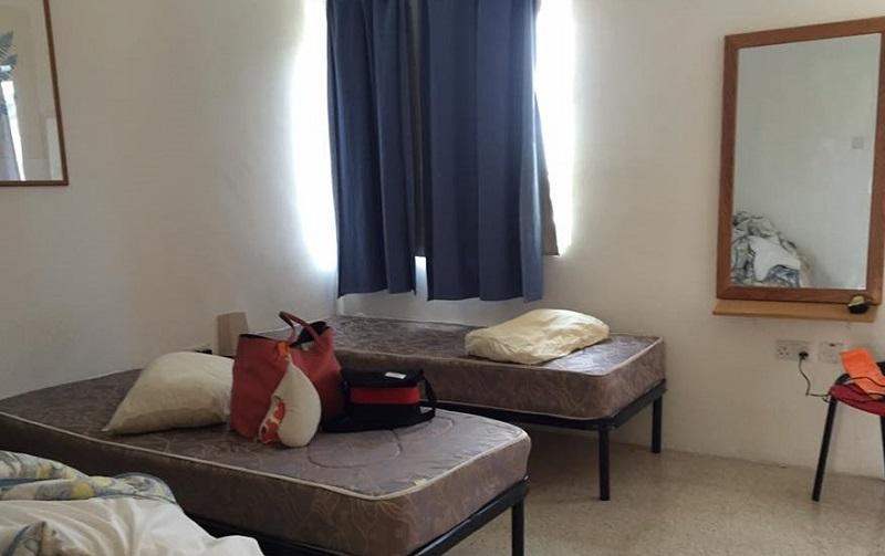 シンプルなお部屋ですが快適。
