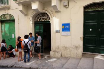 Easy Schoolは歴史がそのまま残るバレッタの建物に入っています。