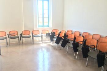 グループで留学する人たちのためのお部屋も。