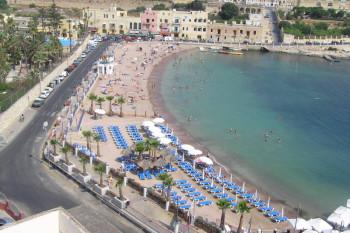 美しいマルタのビーチ