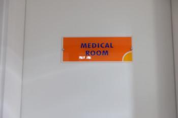 保健室のようなメディカルルーム