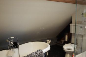 バスルームもオシャレです。
