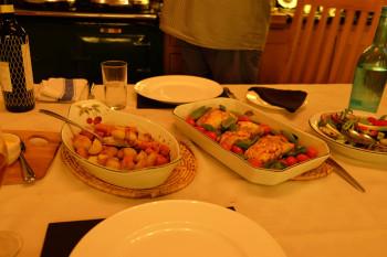 お野菜とお魚のグリル