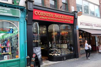 パスティというイギリス料理のお店。
